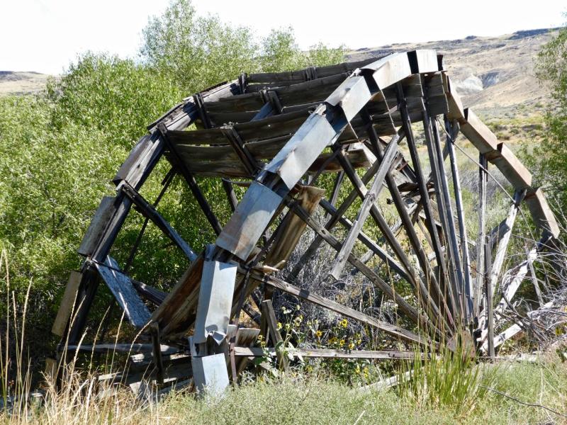 Island Ranch Waterwheel