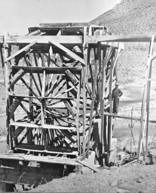 Owyhee  tall Waterwheel - 3